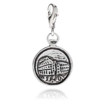 Charm Colosseo in Argento